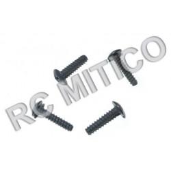 86072 - Cap Head Self Tapping Screws 2.6x12 mm - 4 uds.