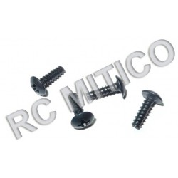 86074 - Cap Head Self-Tapping Screws 3x10 mm - 4 Uds.