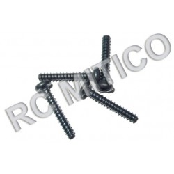 86076 - Rounded Head Self Tapping Screws 3x18 mm - 4 uds.