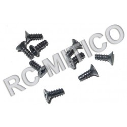 86077 - Countersunk Self Tapping screws 3x8 mm - 9 uds.