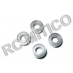 86082 - Ball Bearings 8x4x3 mm - Rodamientos - 4 uds.