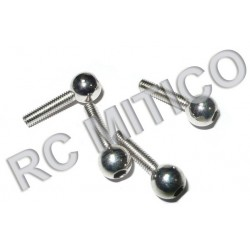 86086 - M3 Ball Head Screws - 4 Uds.