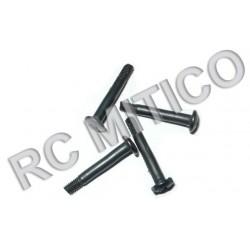 86096 - Rear Upper Susp. Arm Screws 2.6x17.5mm