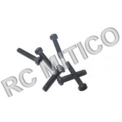 18040 - Round Head Screw M2x10 mm - 6 uds.