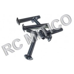 18043 - Round Head Screw M3x20 mm - 6 uds.