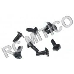 98068 - Round Head Screw M3x8 mm - 8 Uds.