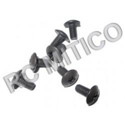 98069 - Round Head Screw M4x8 mm - 8 Uds.