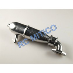 09107 - Tubo de Escape con colector de escape SET (aluminio)