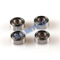 09123 - Rodamientos 12x6x4mm x4 uds.