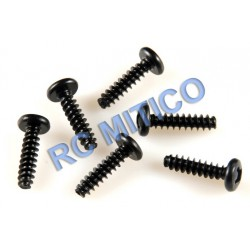 09136 - Button Head Screws 3x12 mm - 8 Uds.