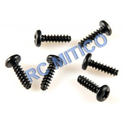 09137 - Button Head Screws 3x10 mm - 8 Uds.