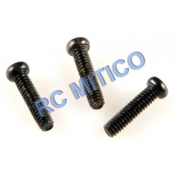 09138 - Cap Head Screws M3x8 mm - 3 Uds.