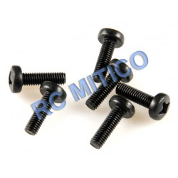 09144 - Cap Head Screws M3x10 mm - 8 Uds.