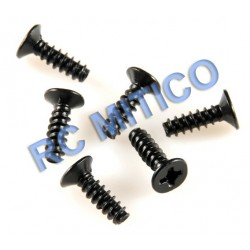 09146 - Flat Head Screw 3x8 mm - 8 Uds.