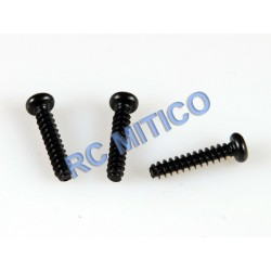 09149 - Button Head Screws 3x15 mm - 3 Uds.