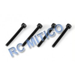 09158 - Cap Head Screws 3x30 mm - 4 Uds.