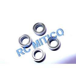 BB-004-006 - Ball Bearing 4x7x2.5 - Rodamientos