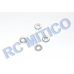 BW-004-004 - Arandela acero 2.6x5.4x0.8 - 4 uds.