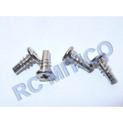 MS-004-025 - Pivot Pin + Screw Uto 2.5x4+2x3 - 4ud