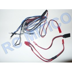 Iluminacion LED para coches 1/10 - 1/8 - 6 LED