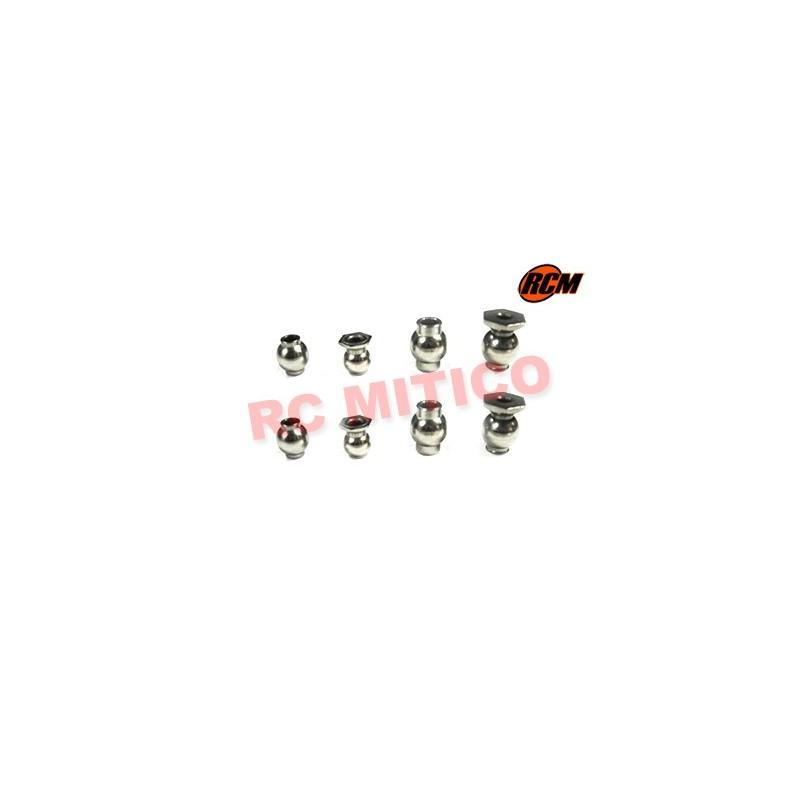 EPC053 - Bolas rotulas Set x8 uds.