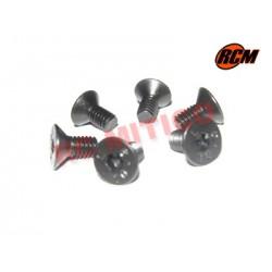 EPC065 - Tornillo cabeza conica 4x8 mm - 6 uds.