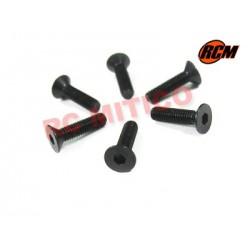 EPC071 - Tornillo cabeza conica 3x12 mm - 6 uds.