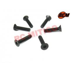 EPC072 - Tornillo cabeza conica 3x14 mm - 6 uds.