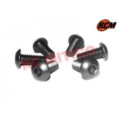 EPC073 - Tornillo cabeza boton 4x10 mm - 6 uds.