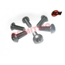 EPC074 - Tornillo cabeza boton 4x12 mm - 6 uds.