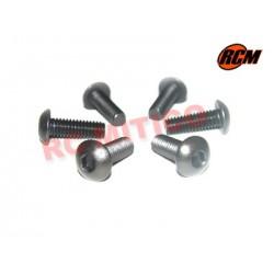 EPC075 - Tornillo cabeza boton 4x14 mm - 6 uds.