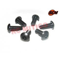 EPC077 - Tornillo cabeza boton 3x8 mm - 6 uds.