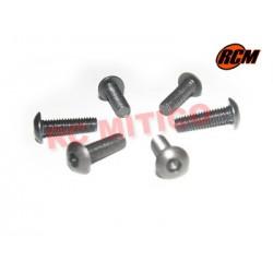 EPC078 - Tornillo cabeza boton 3x10 mm - 6 uds.