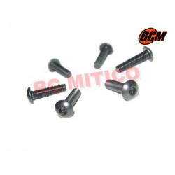 EPC079 - Tornillo cabeza boton 3x12 mm - 6 uds.