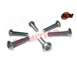 EPC080 - Tornillo cabeza boton 3x14 mm - 6 uds.