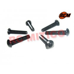EPC081 - Tornillo cabeza boton 3x16 mm - 6 uds.