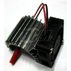 Disipador para motores 380 con ventilador
