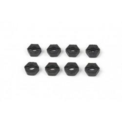 6043 - Hexagonos de 8.5 mm para llanta x8 uds.