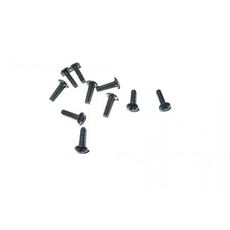 6576 - Tornillos M2x8 mm x10 uds.