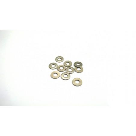 6586 - Arandelas 6x2.6x0.5 mm x10 uds.