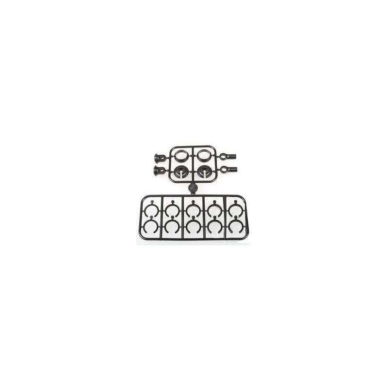 87397 - Rotulas cazoletas y precargas 3.5 mm