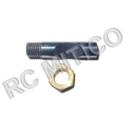 R098 - Pasador + Tuerca para sujección carburador