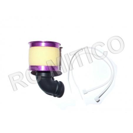 04104 - Aluminum air Filter - Purple