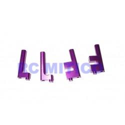 102003 - Soportes de servo de Aluminio x4 uds.