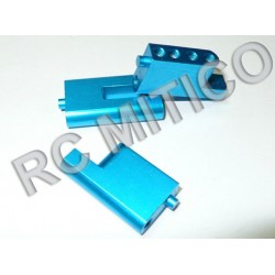 860011 - Aluminum Radio Plate Post