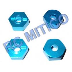 286042 - Hexagonos de Aluminio x4 uds.