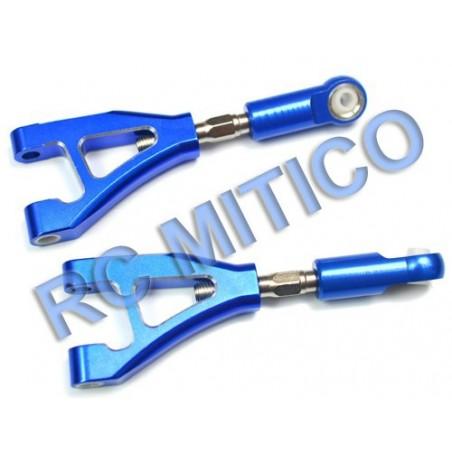 054006 - 050006 - Trapecios taseros superior de Aluminio x2 uds.