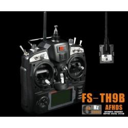 Emisora 2.4GHz FS-TH9X - 9 CANALES + receptor