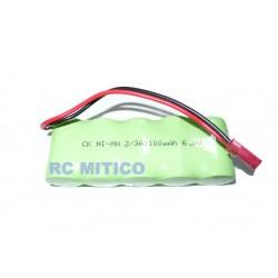 Bateria en linea para receptor - 6v 1100 mAh