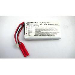 Bateria LiPo 7.4V 1000mAh 25C - Art-Tech